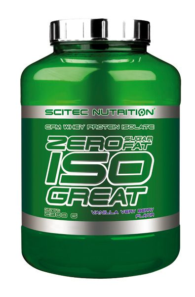 Scitec Nutrition ZERO SUGAR/ZERO FAT ISOGREAT 900g