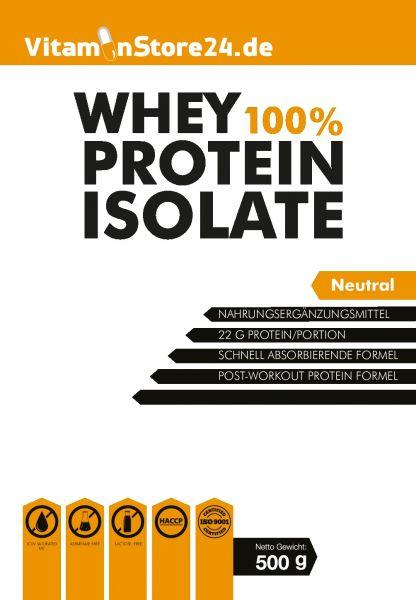 VitaminStore24 100% Whey Protein Isolate