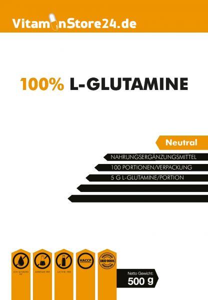 VitaminStore24 100% L-Glutamin