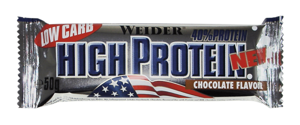 Weider 40% Low Carb* High Protein Bar
