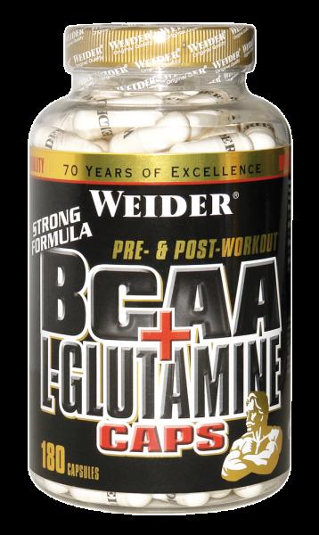 Weider BCAA + L-Glutamine Caps