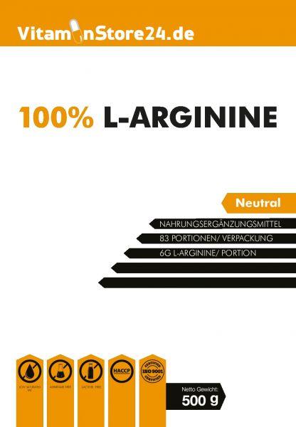 VitaminStore24 100% L-Arginine