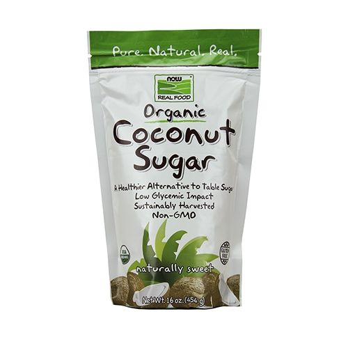 NOW Foods Organic Coconut Sugar