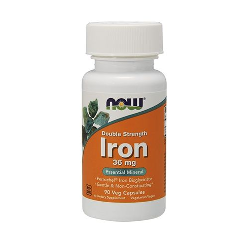 NOW Foods IRON 36MG