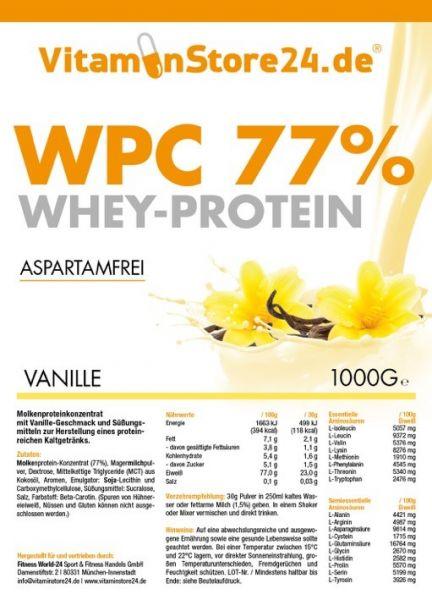 VitaminStore24 Whey Protein