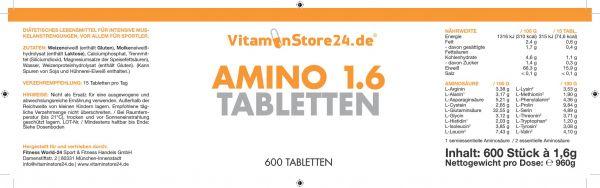 VitaminStore24 Amino 1.6