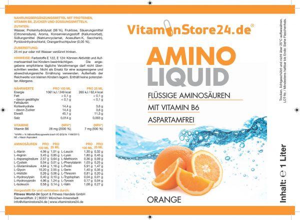 VitaminStore24 Amino Liquid