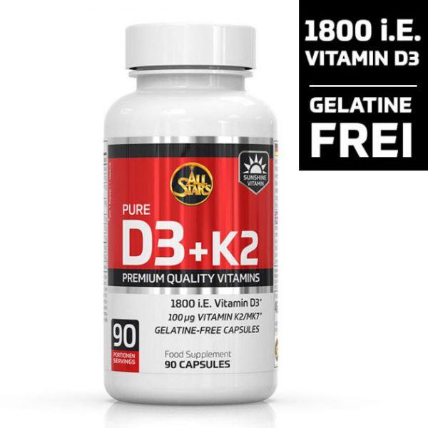 All Stars Vitamin D3 + K2
