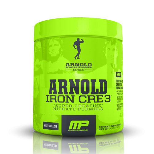 Muscle Pharm Arnold Iron CRE3