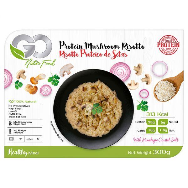 Go Natur Food Protein-Pasta mit Pilzen