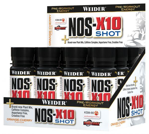 Weider NOS-X10 Shot