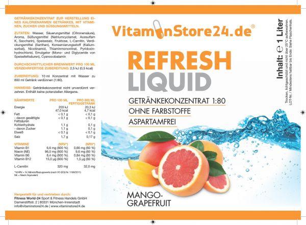 VitaminStore24 Refresh Liquid