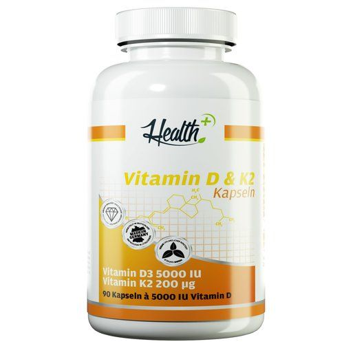Health+ VITAMIN D3 & K2