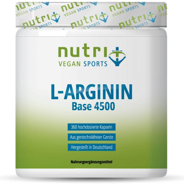 Nutri+ Vegan L-Arginin Base