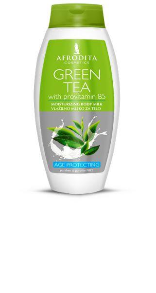 Afrodita GREEN TEA Körpermilch