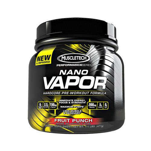 Muscle Tech Nano Vapor Hardcore Pro Series