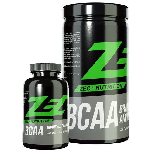 ZEC+ BCAA KAPSELN