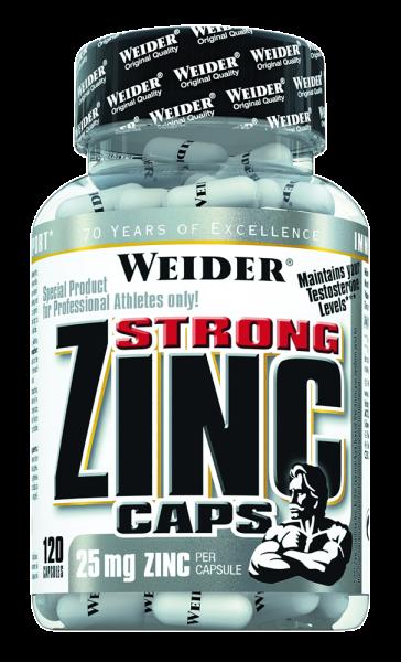 Weider Strong Zinc Caps
