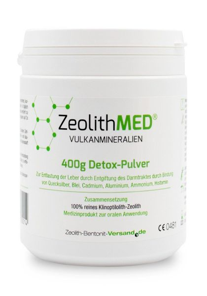 Zeolith MED® 400 Detox Pulver