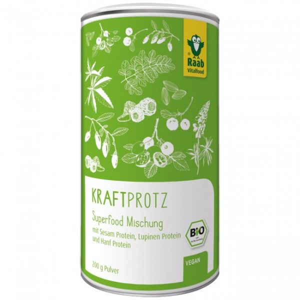 Raab Vitalfood Bio Superfood Mischung Kraftprotz