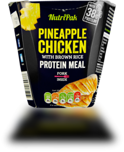 Nutripak Pineapple chicken with brown rice