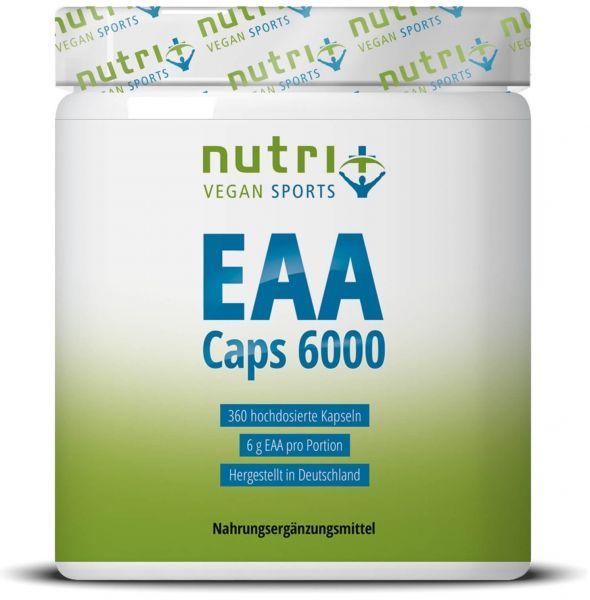 Nutri+ EAA Kapseln Vegan