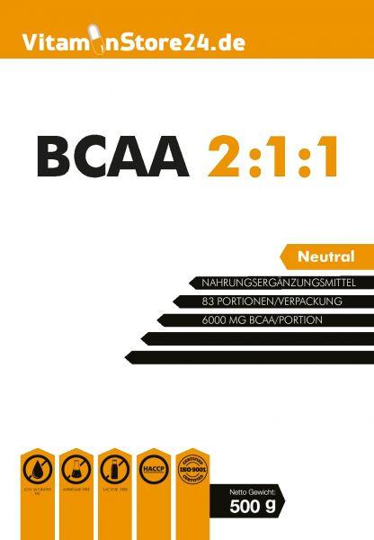VitaminStore24 100% BCAA 2:1:1