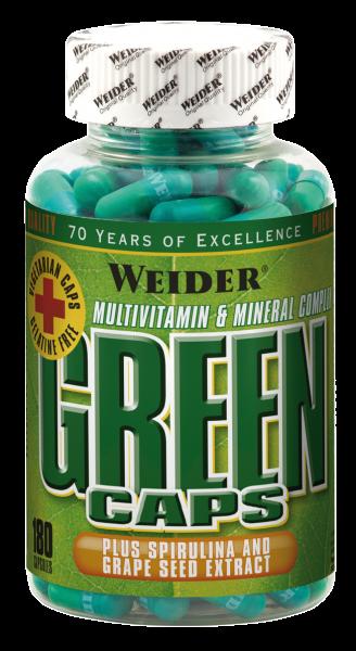 Weider Green Caps
