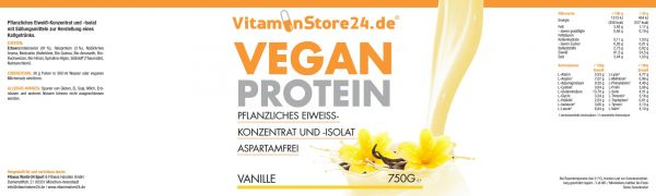 VitaminStore24 Vegan Protein